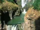 Extreme Kayaking, White River Falls, White River, Oregon