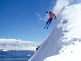 Side Drop, Alpine Meadows, Lake Tahoe, California