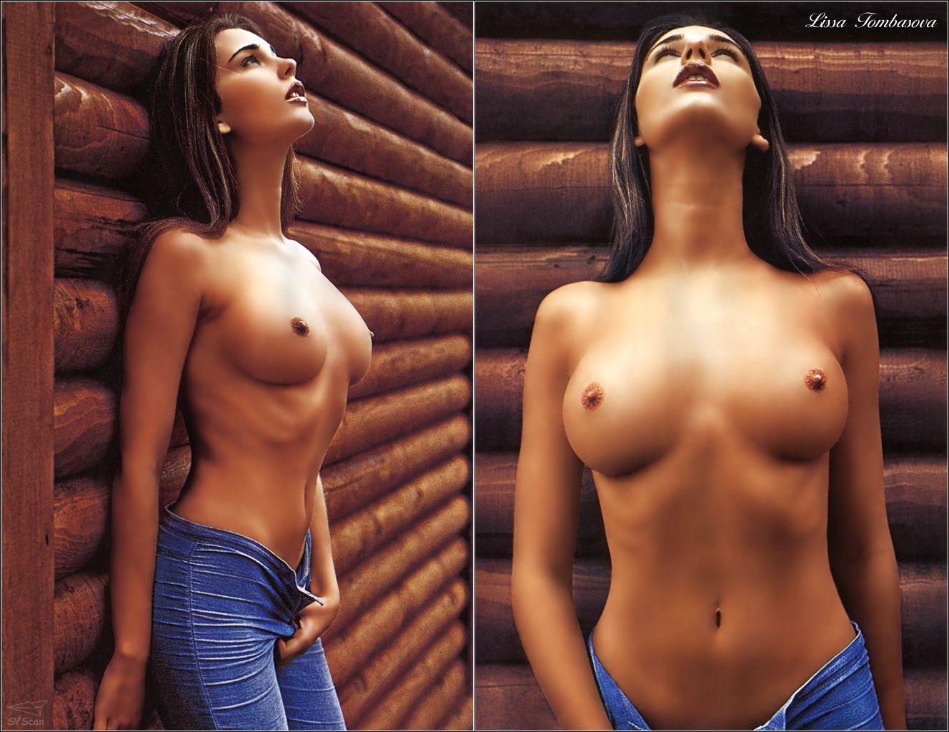Фото голая грудь 8 размера 23 фотография