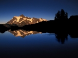 Sunset Reflections, Mount Shuksan,  Washington