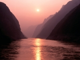 Wu Gorge of Yangtze River, China